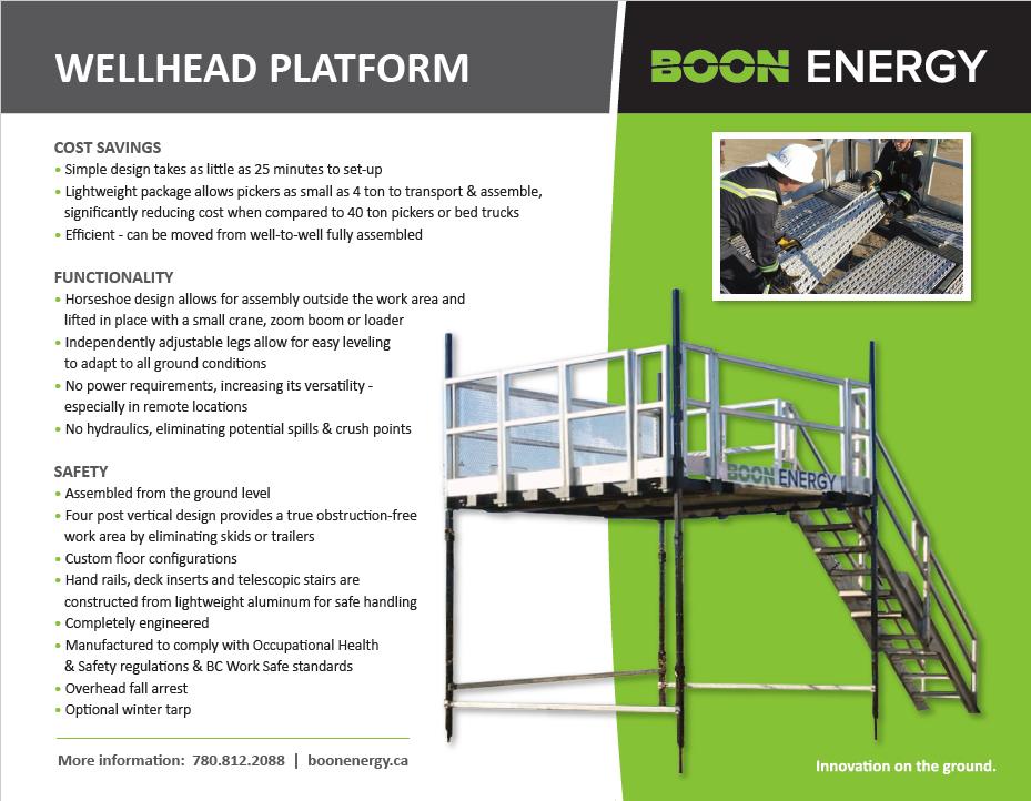 Wellhead Platform | Boon Energy